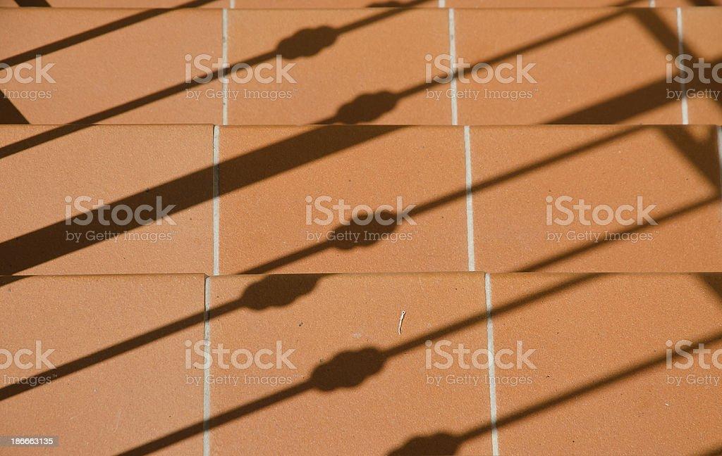 tuscan terracotta stock photo