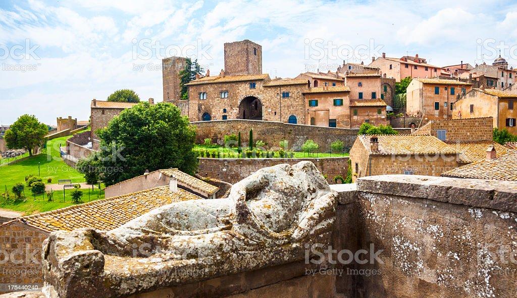 Tuscania, Italy stock photo