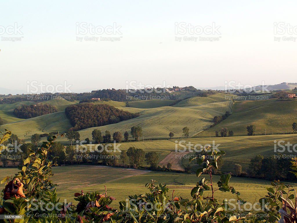 Tuscany and the nature royalty-free stock photo