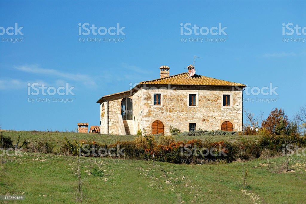 Tuscany arhitecture stock photo