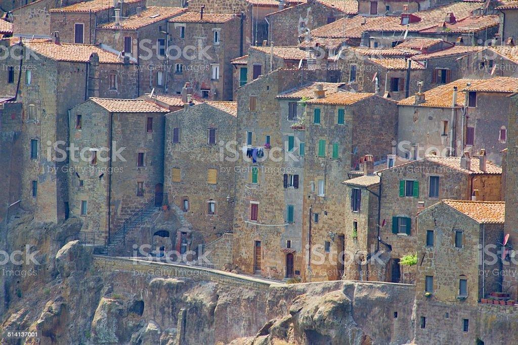 Tuscany city stock photo