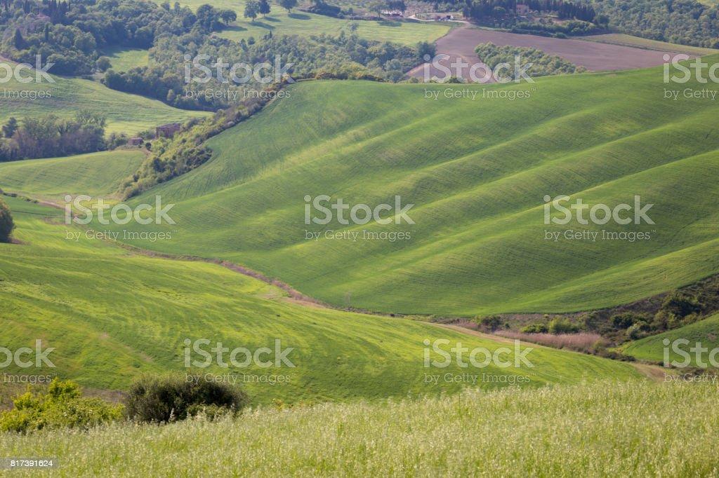 Tuscany countryside stock photo
