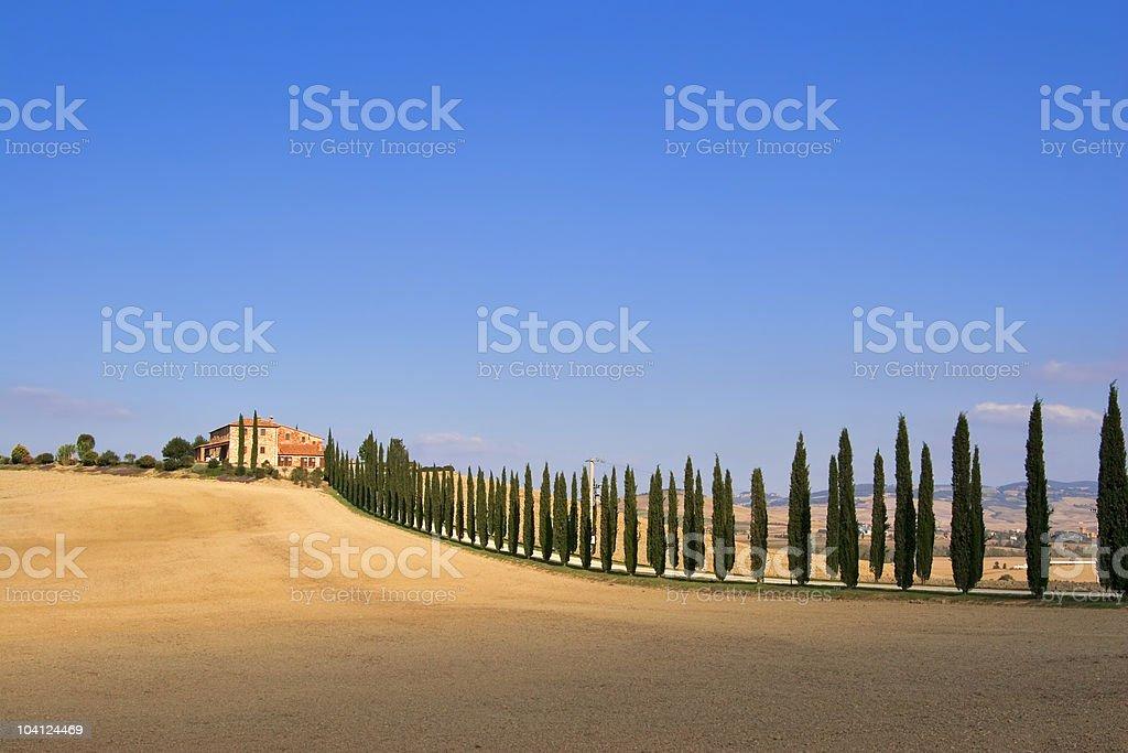 Tuscany Farm royalty-free stock photo