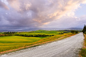 Tuscany hills. Italy. outdoor landscape