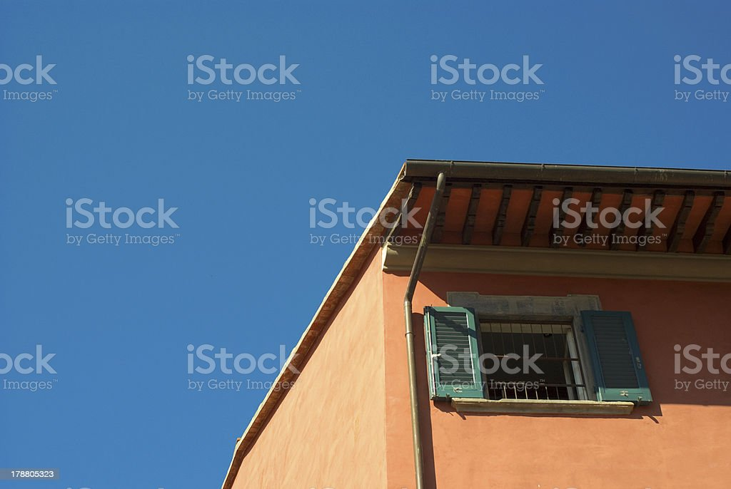 Tuscany house royalty-free stock photo