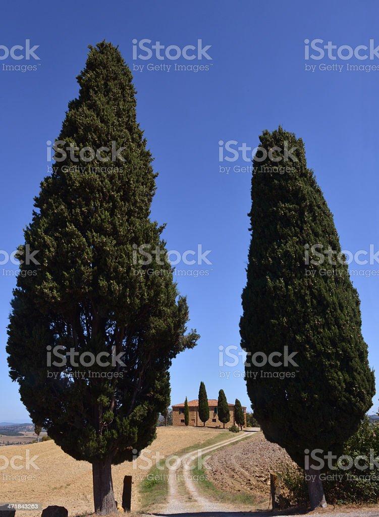 Tuscany House royalty-free stock photo