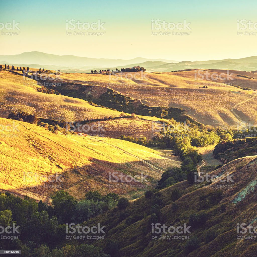 Tuscany Italy stock photo