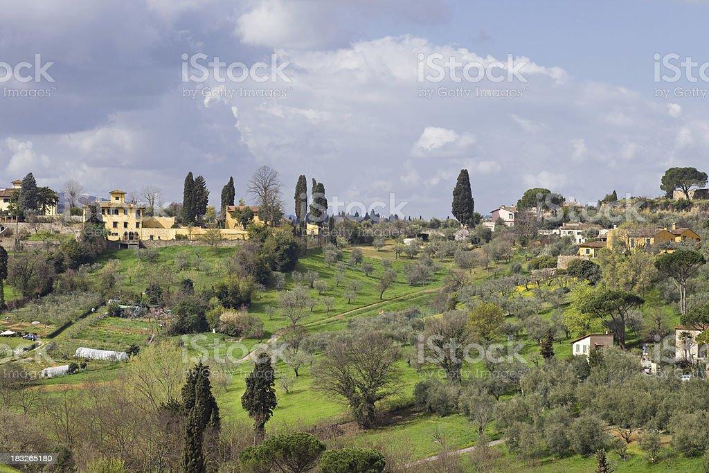 Tuscany, Italy, Toscana royalty-free stock photo