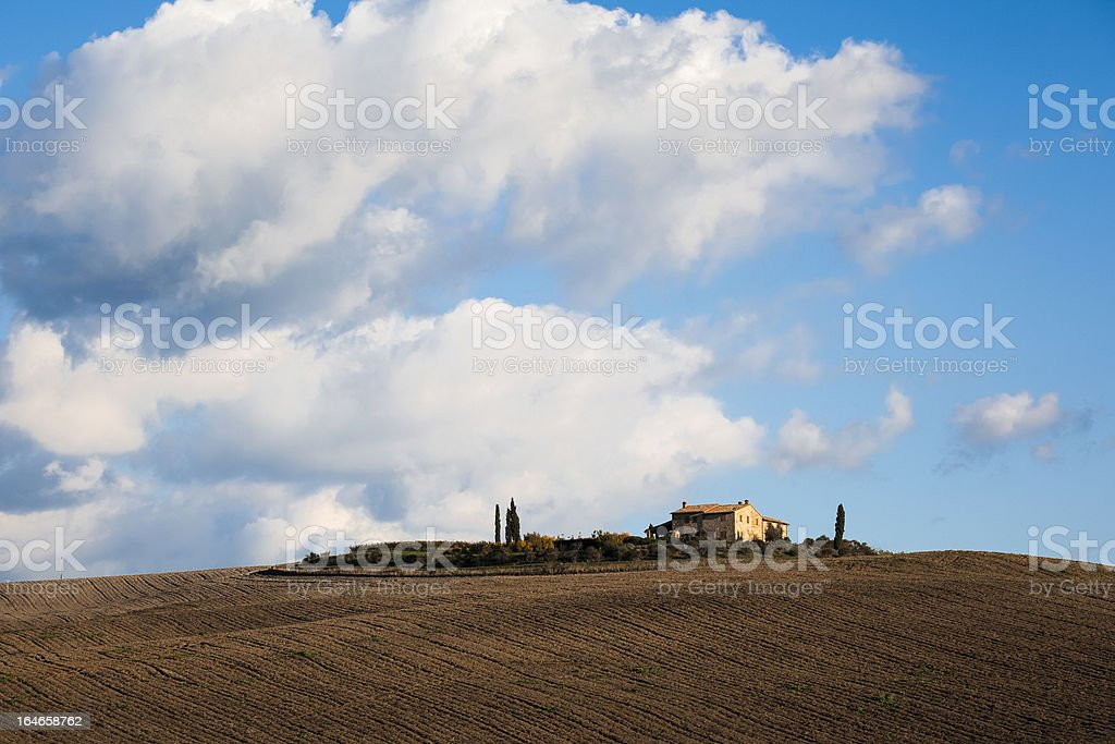 Tuscany Landscape. Italy royalty-free stock photo