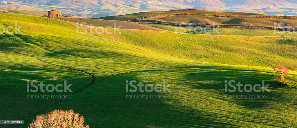 Tuscany Landscape, Italy royalty-free stock photo