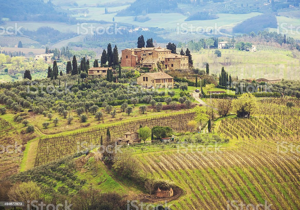 Tuscany stock photo