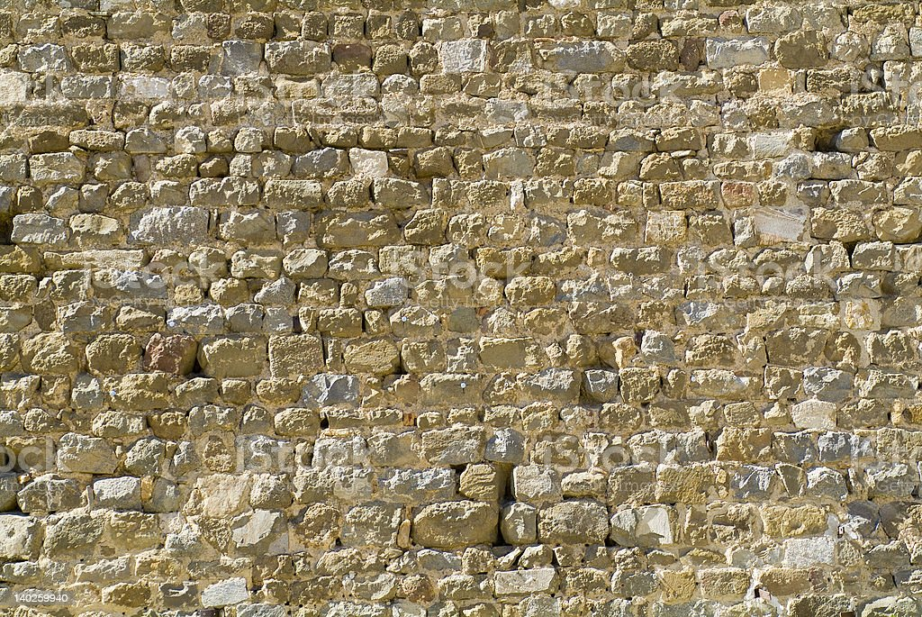 Tuscany Stone Wall Texture Background Series royalty-free stock photo