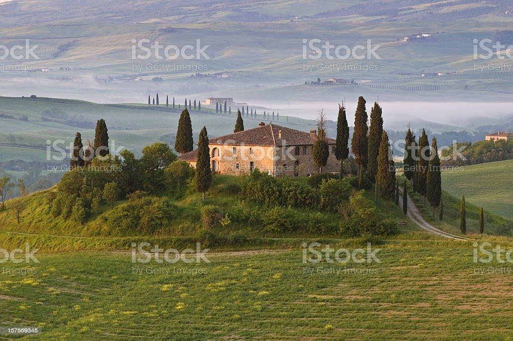 Tuscany Villa royalty-free stock photo
