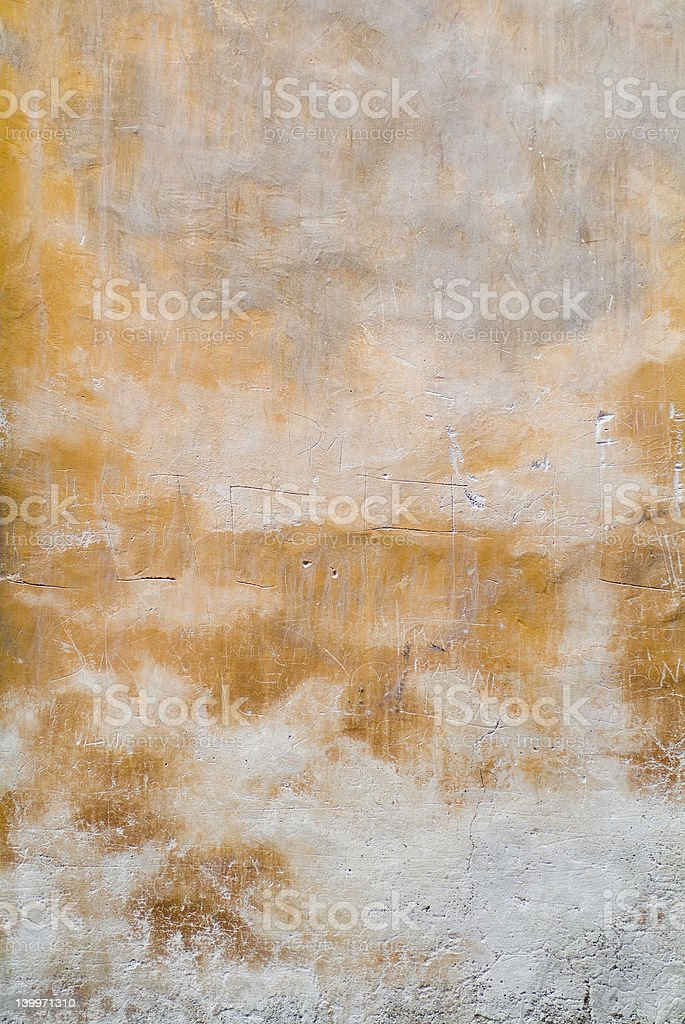 Tuscany wall texture background 03 royalty-free stock photo
