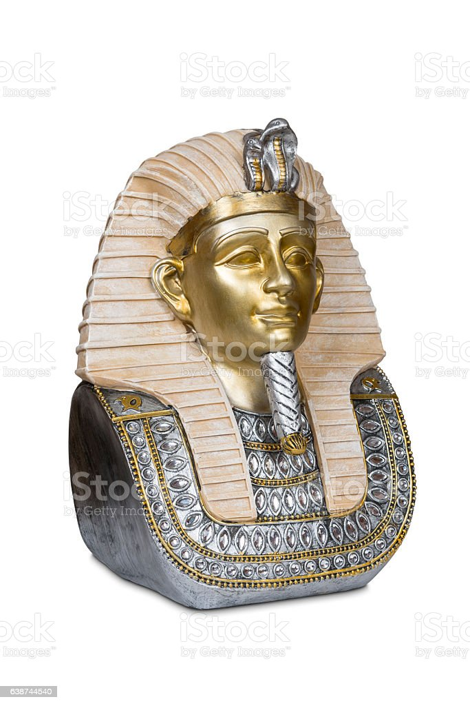 Tutankhamen stock photo