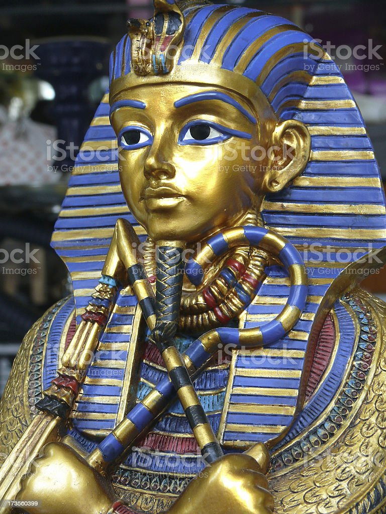 Tut-ench-Amun royalty-free stock photo