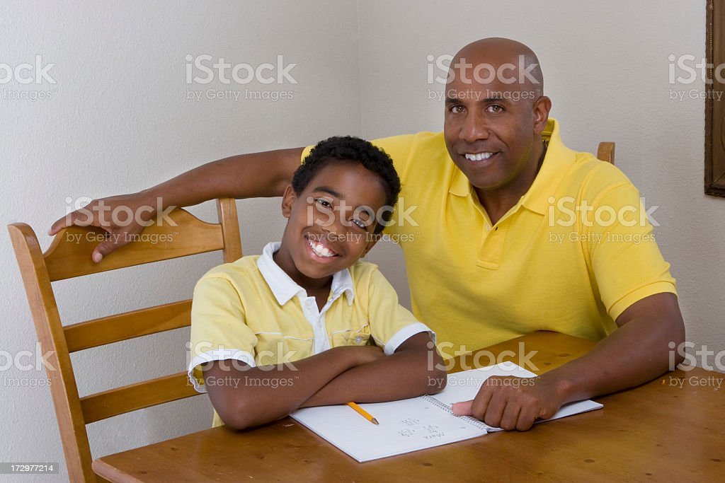 Tutoring royalty-free stock photo