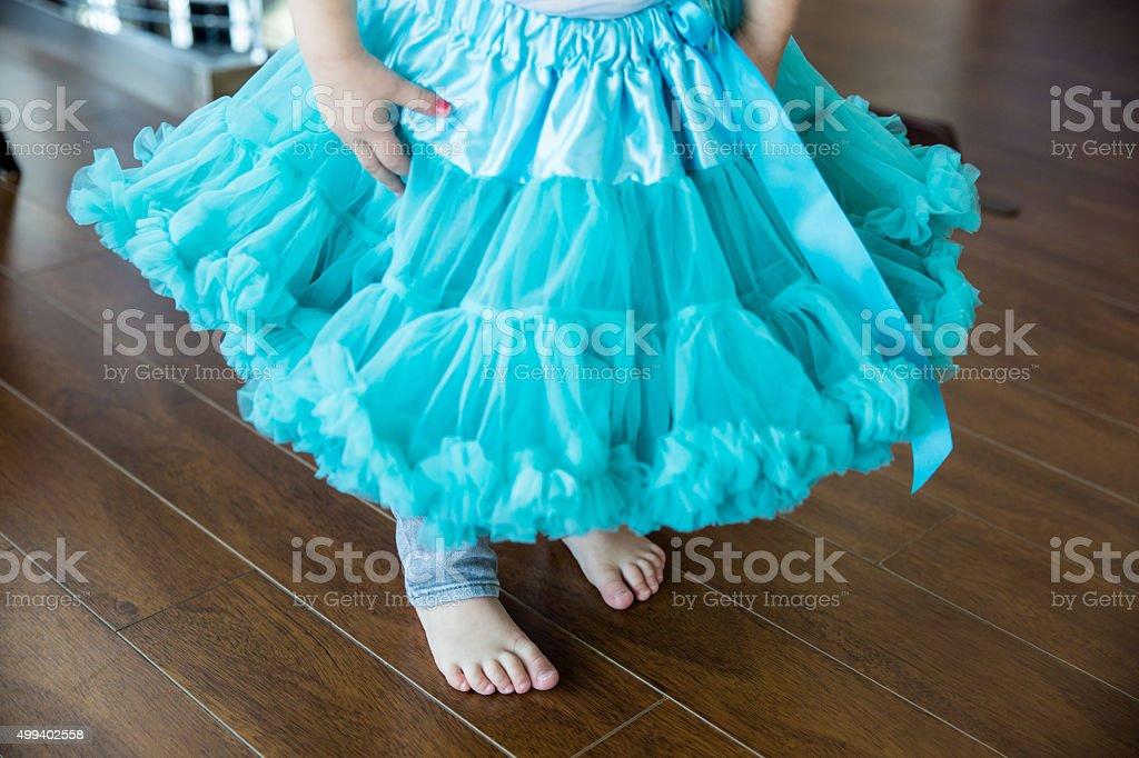 Tutu ballet skirt stock photo