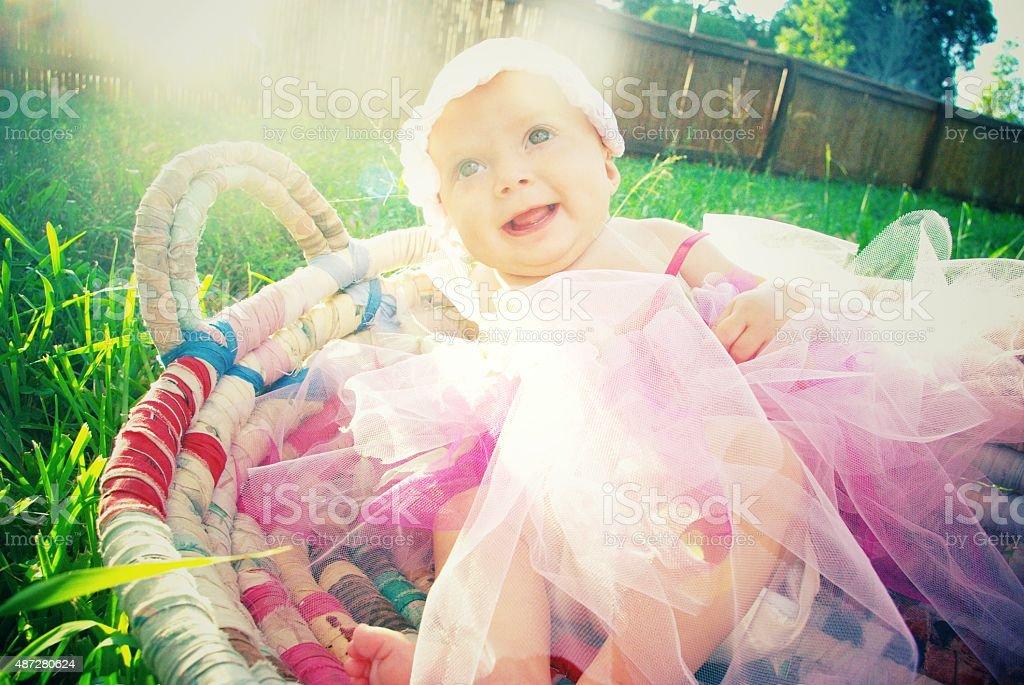 Tutu cute stock photo