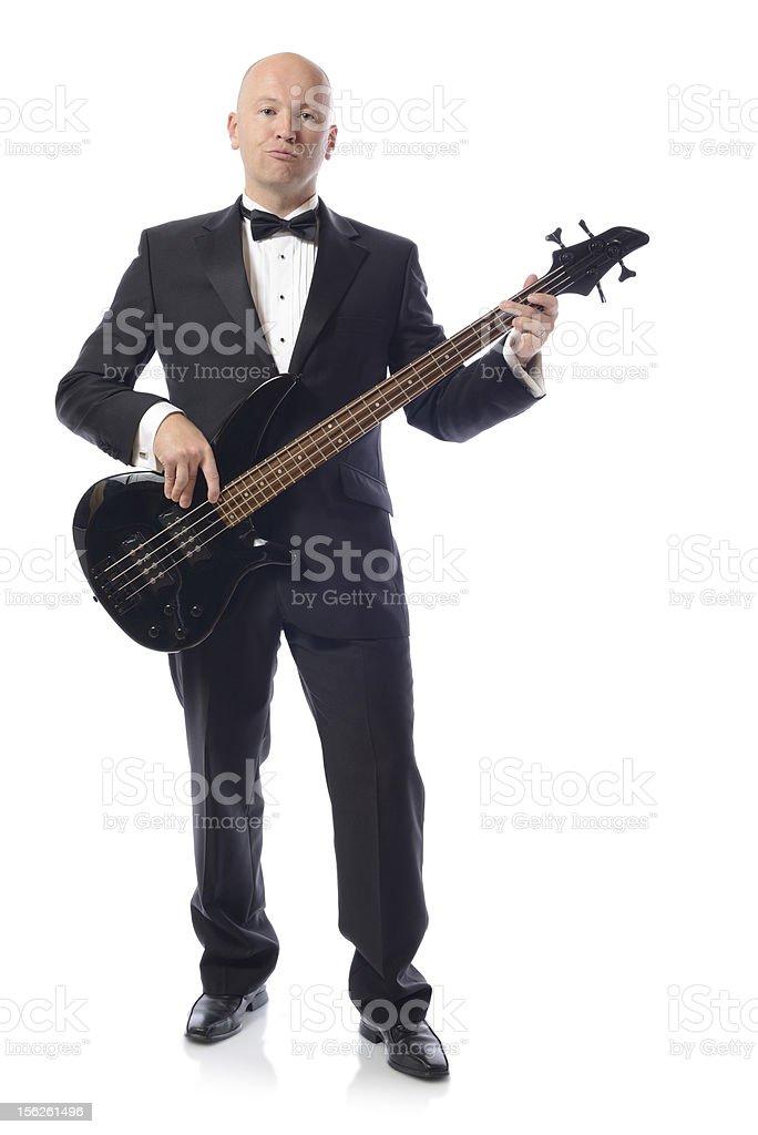 tuxedo bass stock photo
