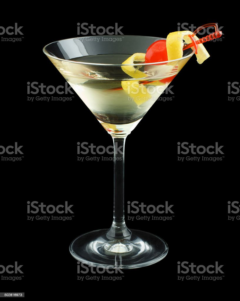 Tuxedo cocktail stock photo