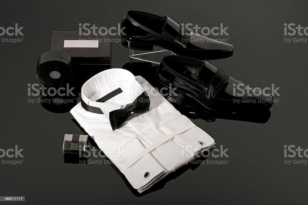 Tuxedo stock photo