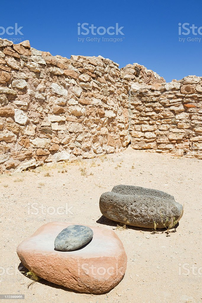 Tuzigoot National Monument royalty-free stock photo