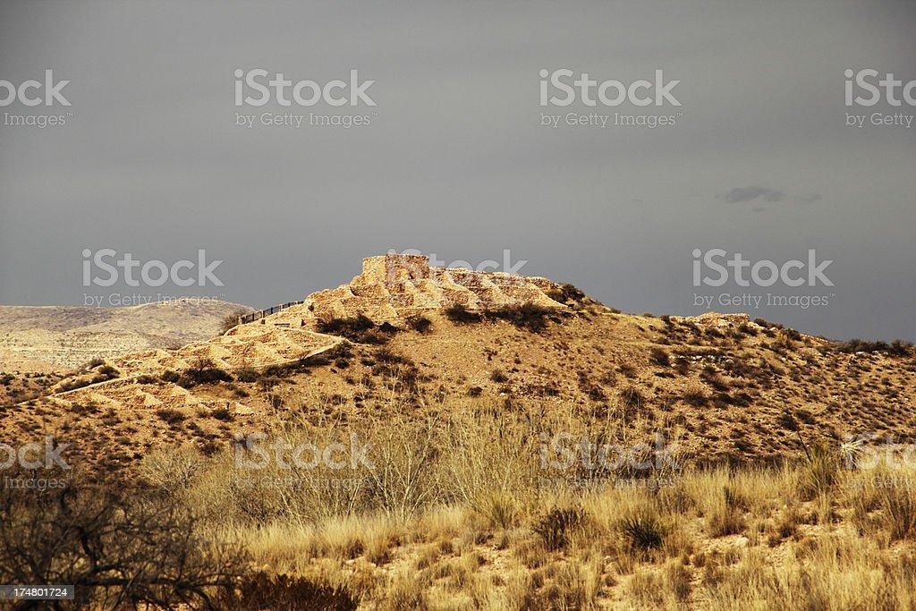 Tuzigoot National Monument Ruin royalty-free stock photo