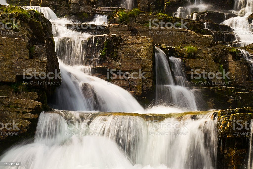 Tvindefossen IV royalty-free stock photo