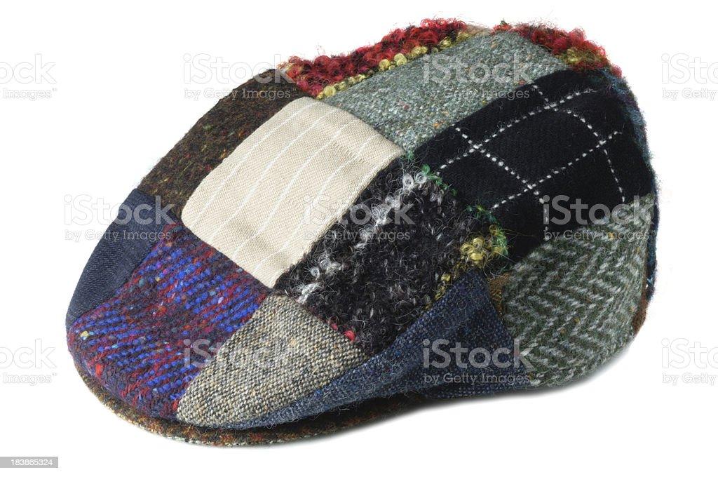 Tweed Cap royalty-free stock photo
