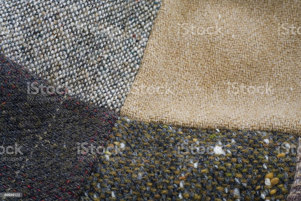 Tweed royalty-free stock photo