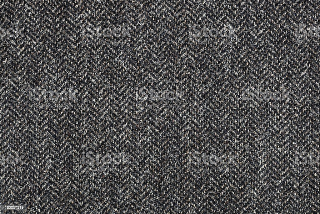Tweed Textile Background stock photo