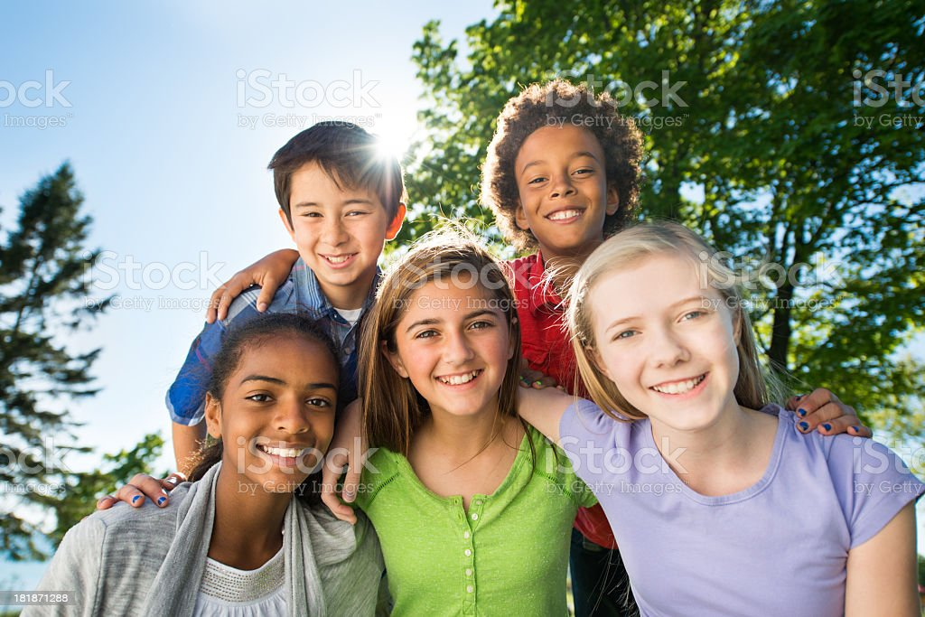 Tweens stock photo