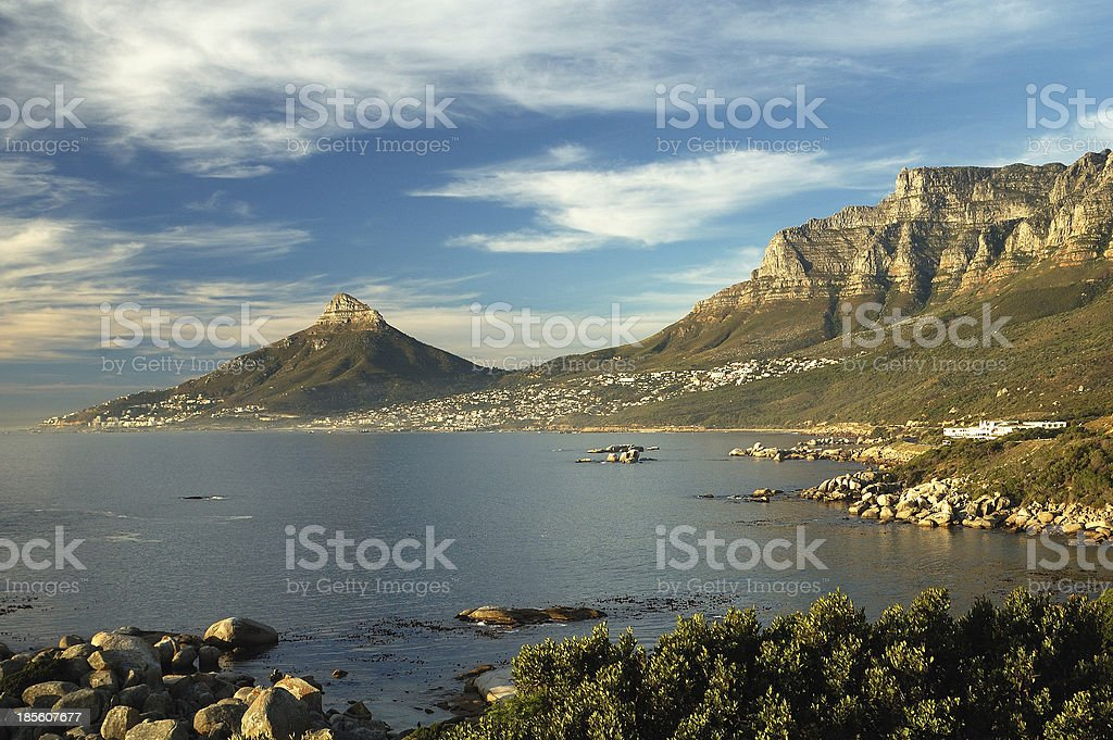 Twelve Apostels and Lion's Head stock photo