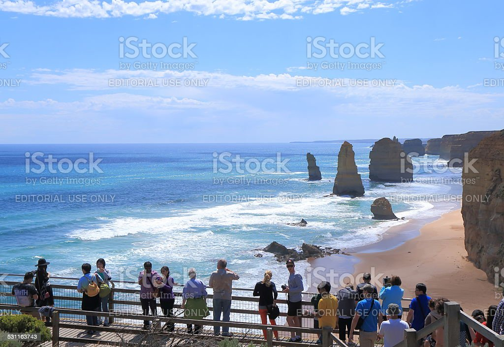 Twelve Apostles Australia nature stock photo