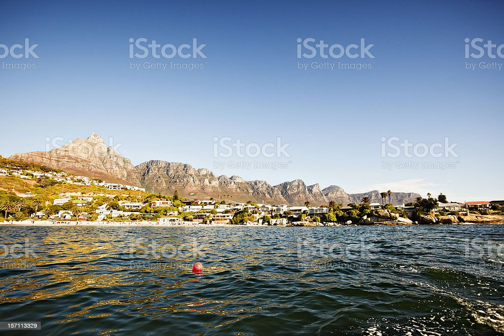 Twelve Apostles, Cape Town stock photo
