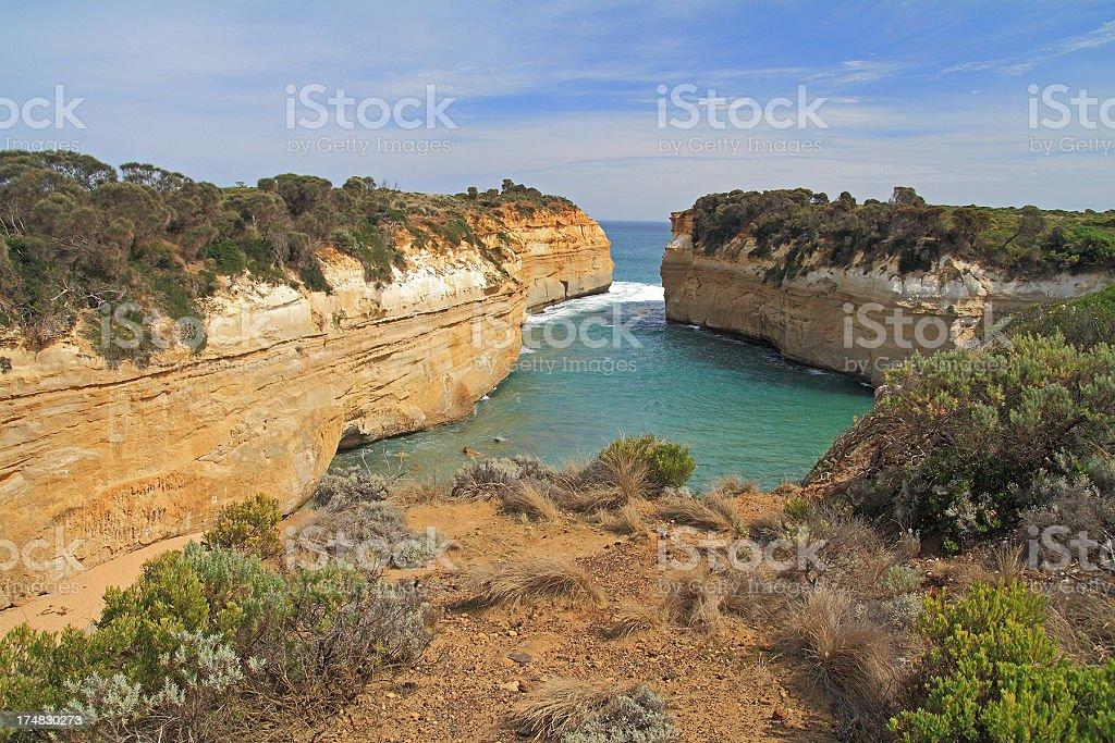 Twelve Apostles Coastal Area royalty-free stock photo