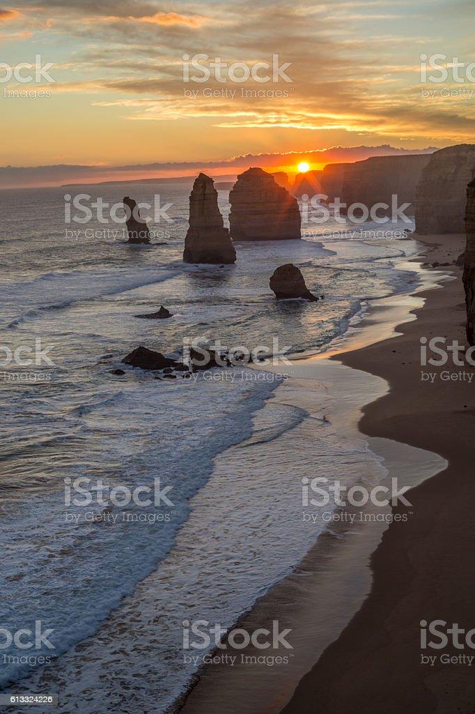 Twelve Apostles, Great Ocean road, Australia stock photo