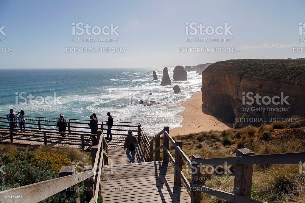 Twelve Apostles - Great Ocean Road stock photo