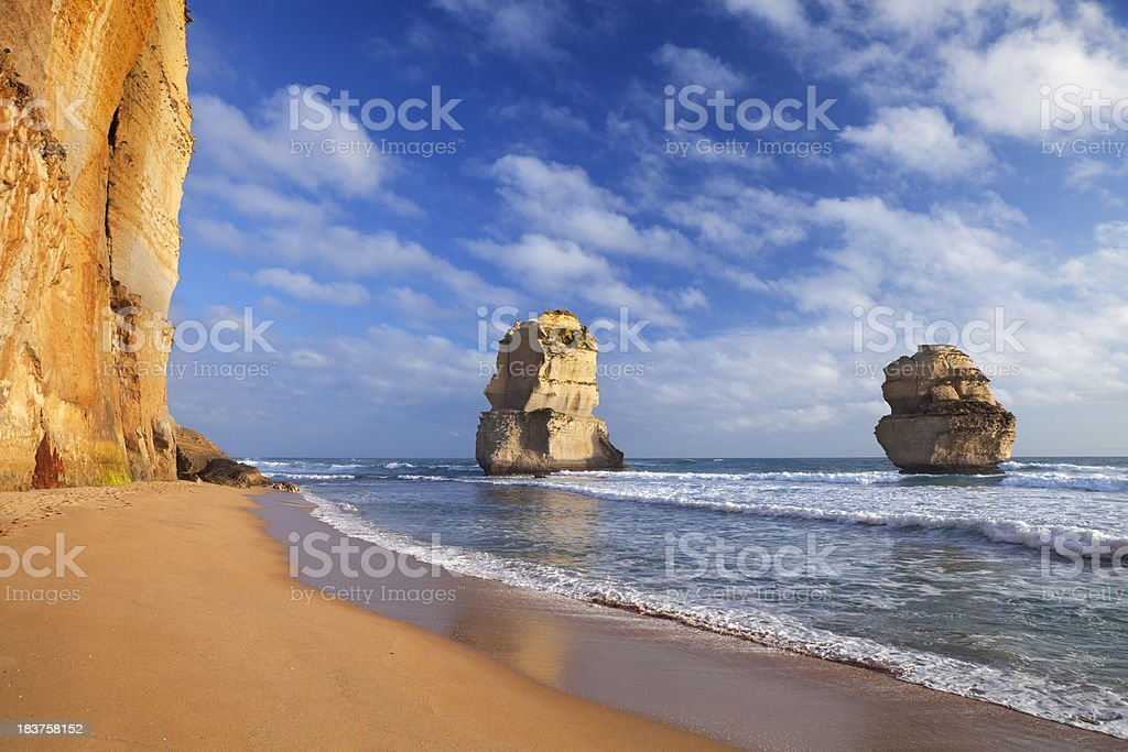 Twelve Apostles on the Great Ocean Road, Australia royalty-free stock photo