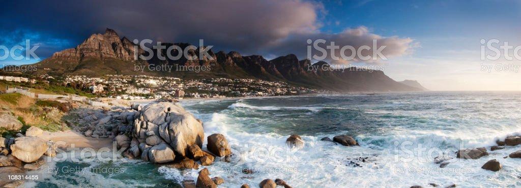 Twelve Apostles Panoramic stock photo