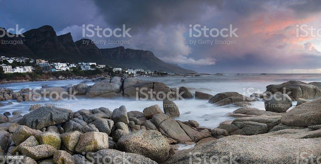 Twelve Apostles Panoramic royalty-free stock photo