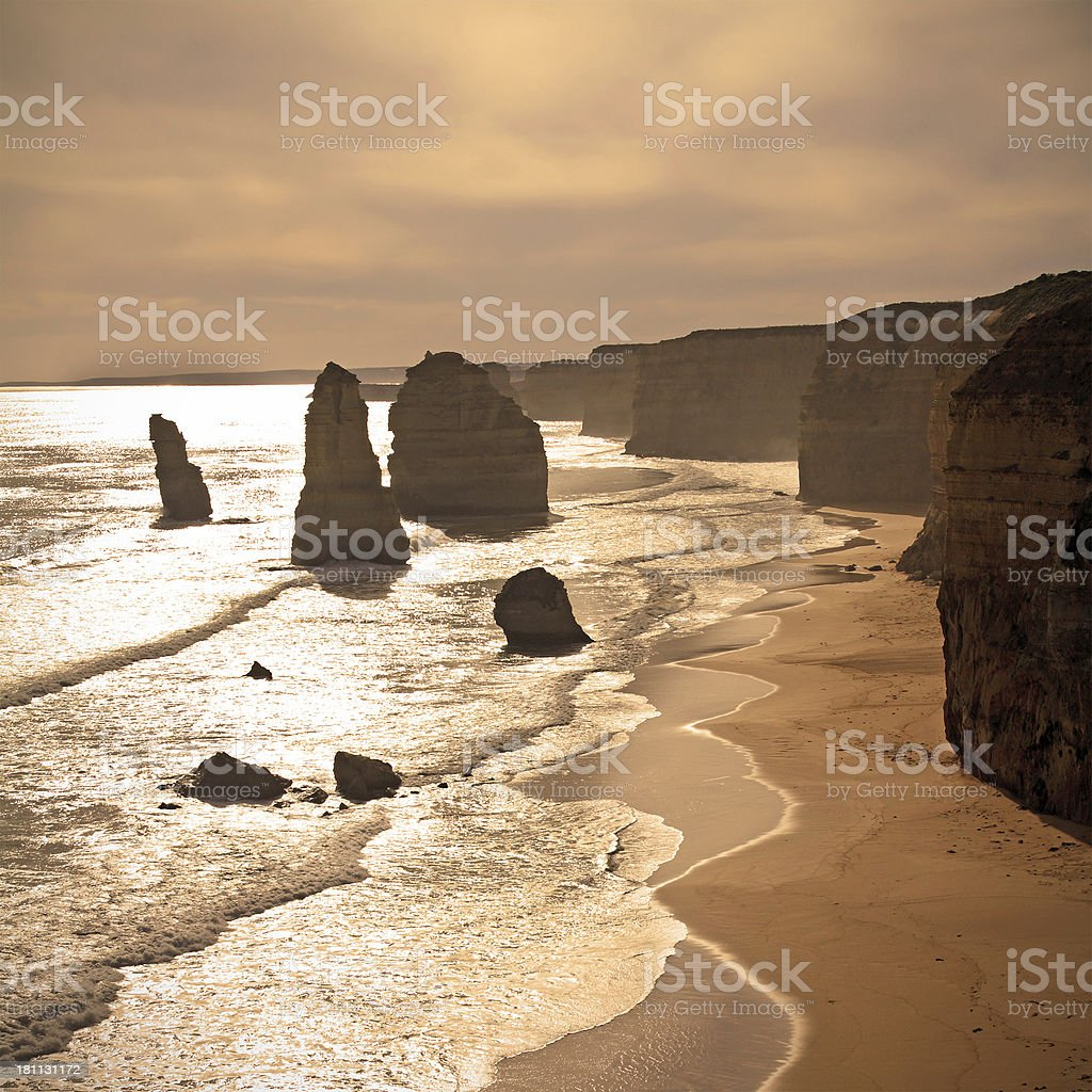 Twelve Apostles royalty-free stock photo