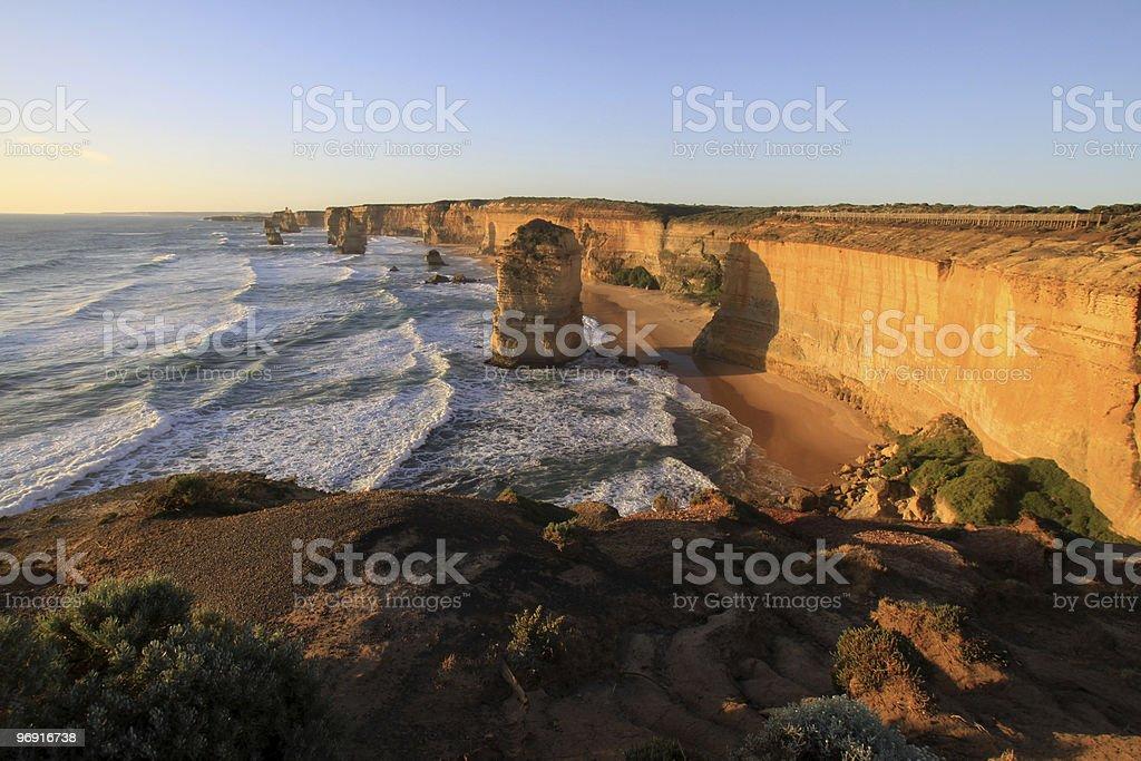 Twelve Apostles royalty-free stock photo