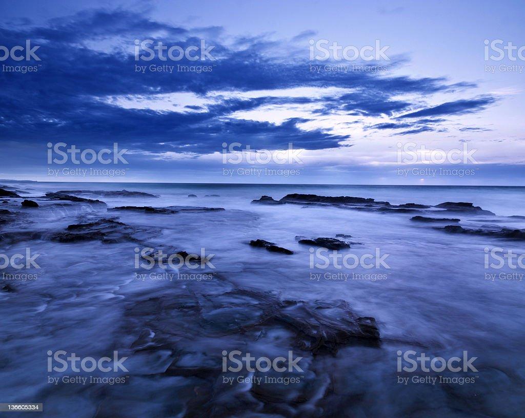 Twelve Apostles Sea Rocks royalty-free stock photo