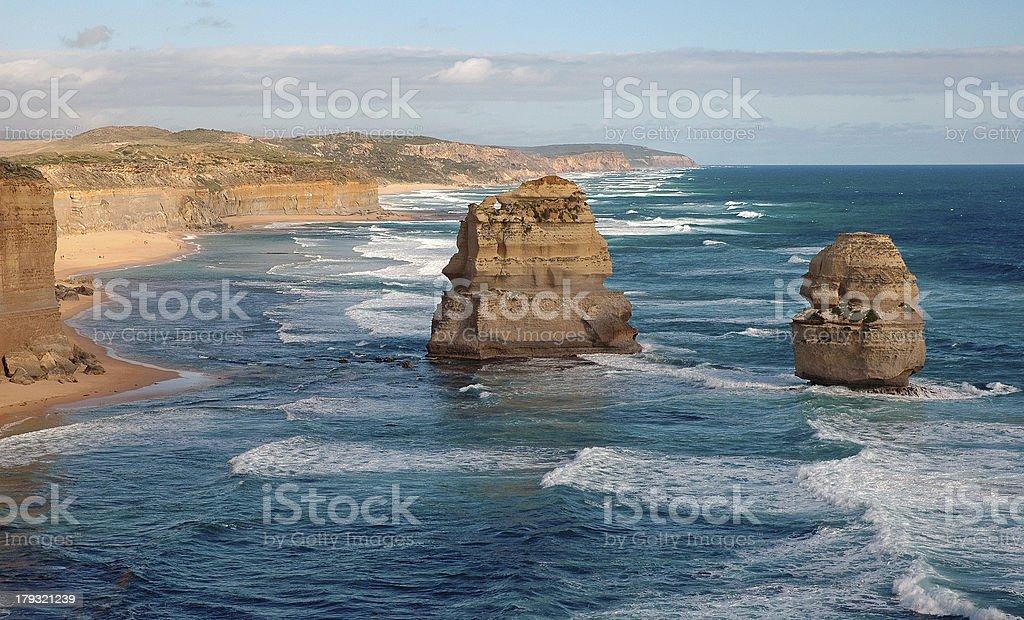 Twelve Apostles, Victoria Australia royalty-free stock photo