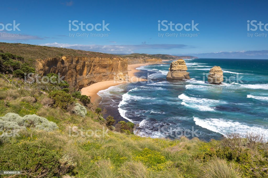 Twelve Apostles, Victoria,Australia. stock photo