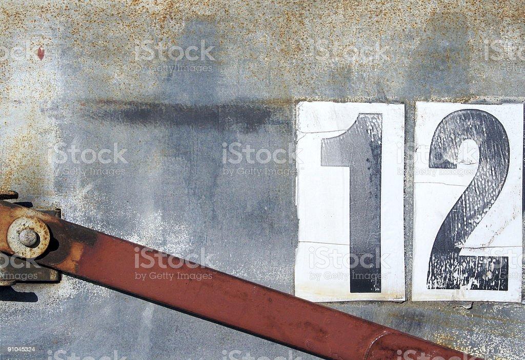Twelve royalty-free stock photo
