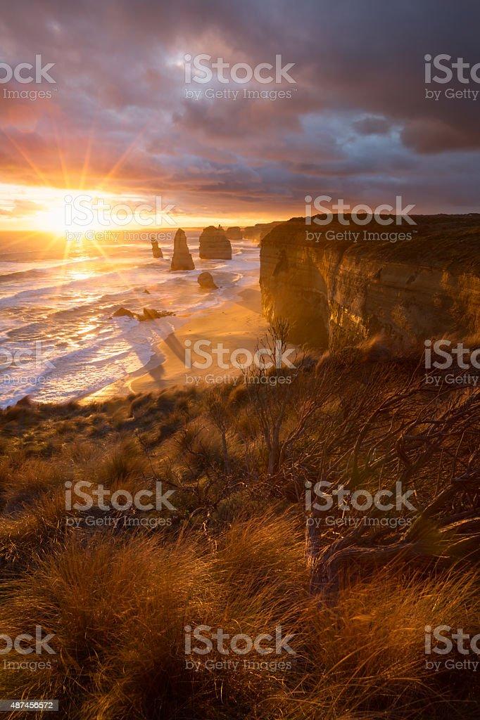 Twelves Apostles, Australia stock photo