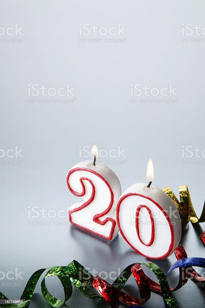 Twentieth royalty-free stock photo